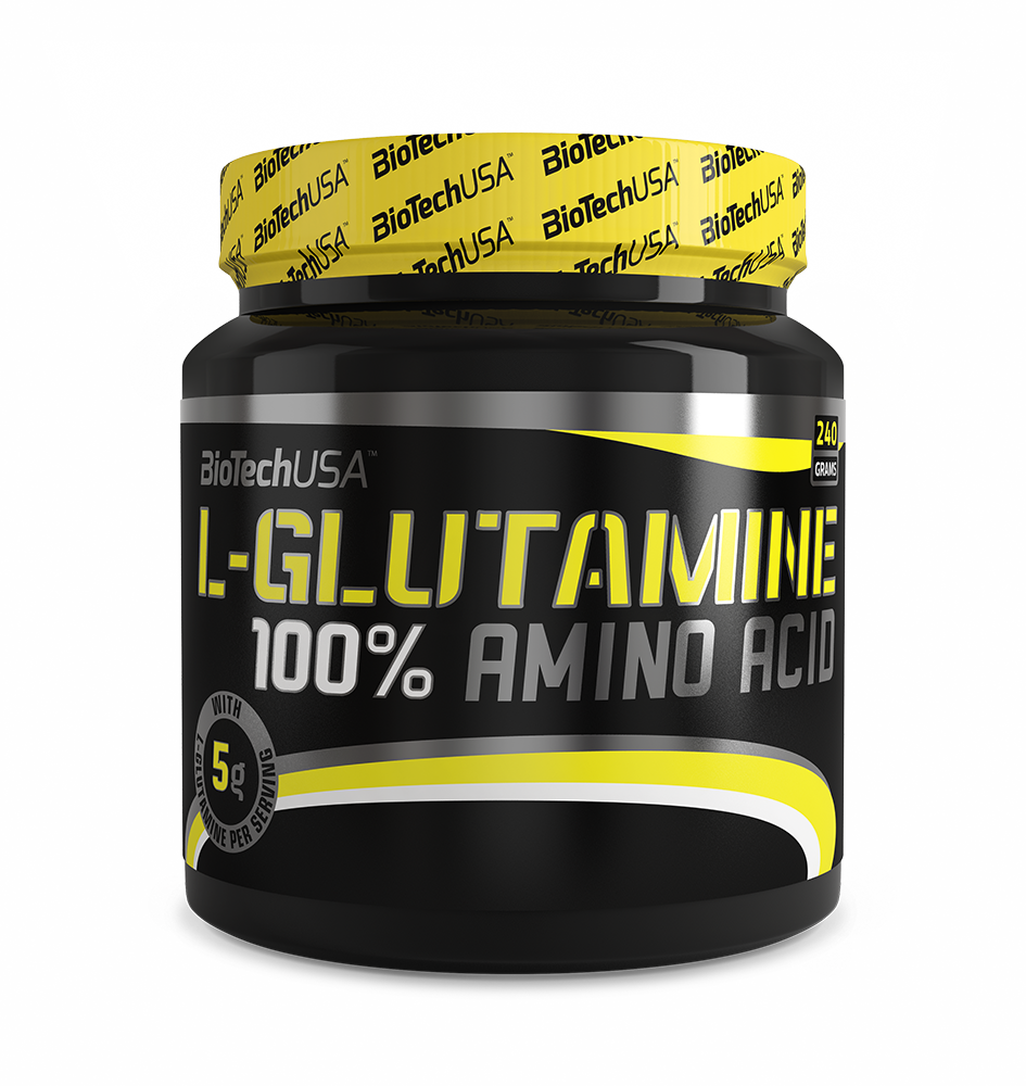 L-Glutamin BioTech USA 500 гр.