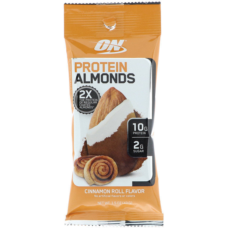 Protein Almonds Optimum Nutrition
