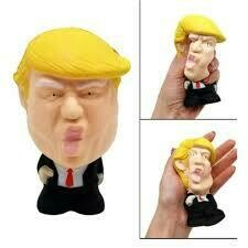 Donald Trump Stress Squeeze Ball Pressure Relief Jumbo Squishy Toy Cool Novelty