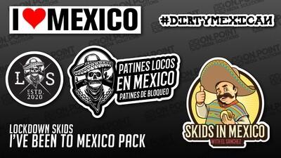 2020 Mexican Lockdown Skids Sticker Pack