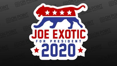 Joe Exotic Tiger King Sticker Pack