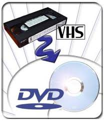 VHS to DVD Conversion - Up to 30 minutes