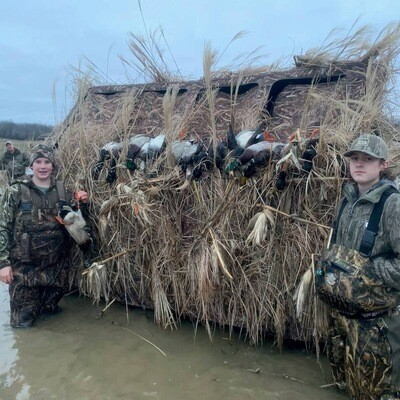 Redneck Blinds Mallard Duck Blind