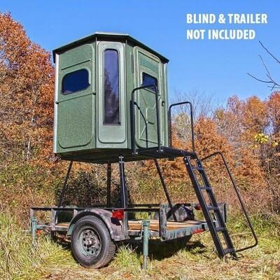 Redneck Blinds Trailer Stand