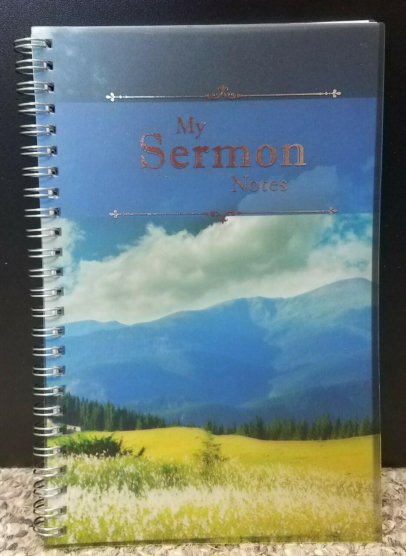 My Sermon Notes Wirebound Notebook