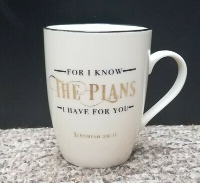 For I Know The Plans I have for You Coffee Mug