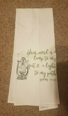 Light to My Path Tea Towel