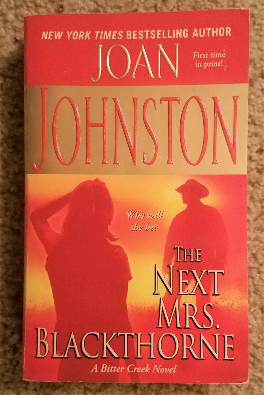 The Next Mrs. Blackthorne by Joan Johnston