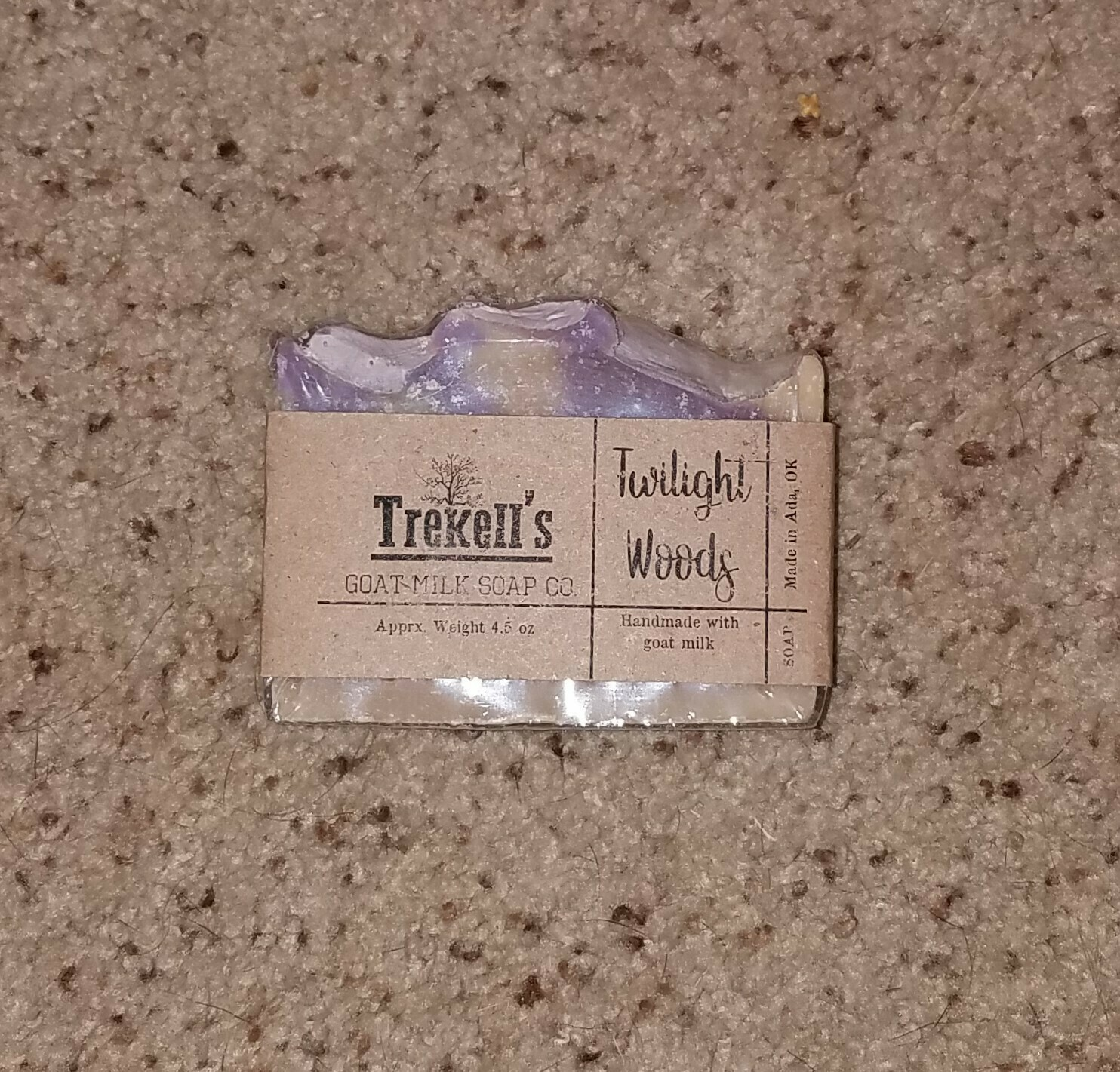 Goat's Milk Bar Soap - Twilight Woods