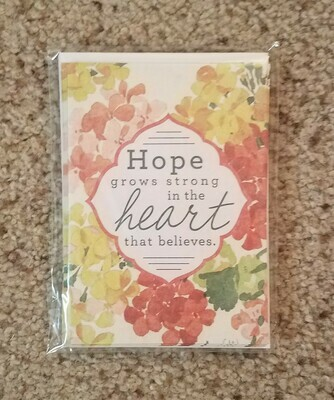 Psalms Hope Card and Envelope Package