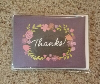 2 Timothy Thank You Card and Envelope Package