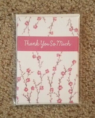 2 Samuel Thank You Card and Envelope Package