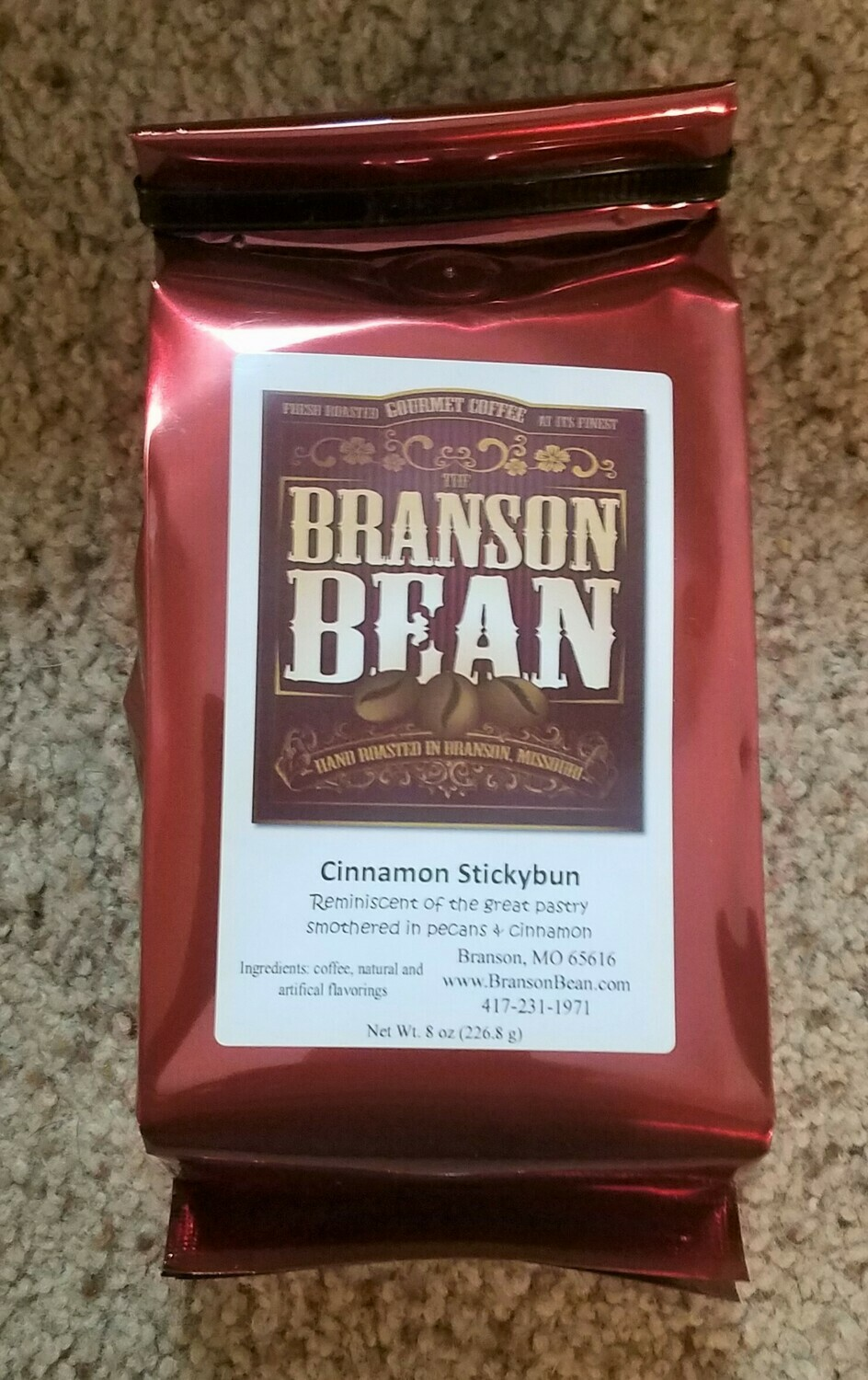 Branson Bean Coffee - Cinnamon Stickybun