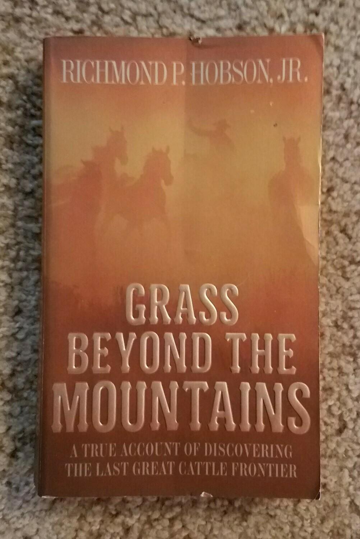 Grass Beyond the Mountains by Richamond P. Hobson Jr.
