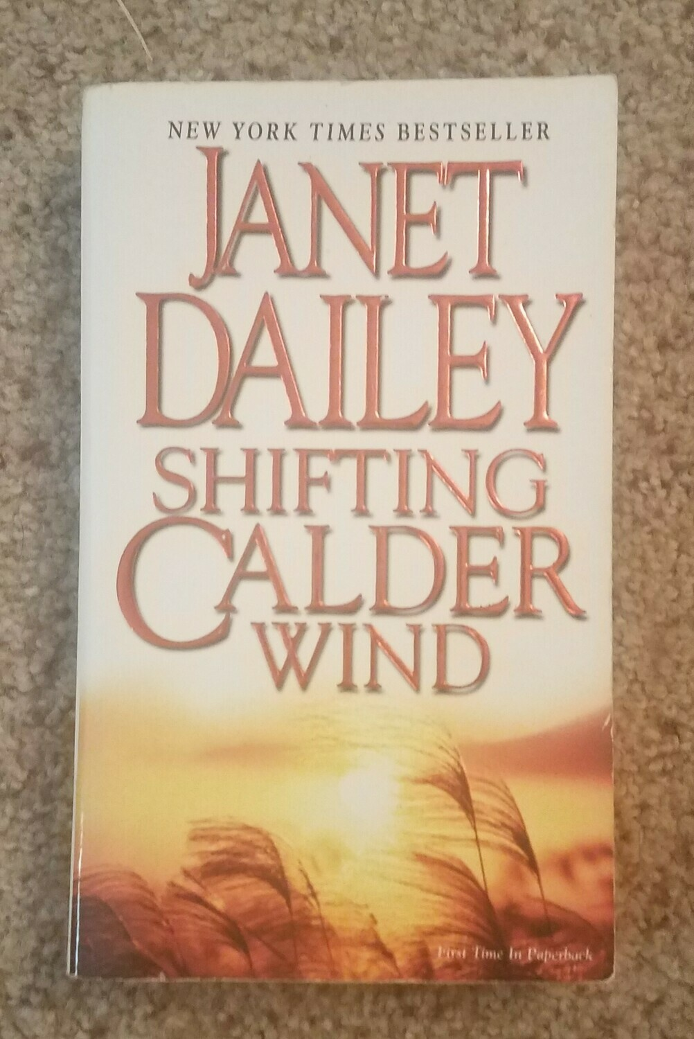 Shifting Calder Wind by Janet Dailey