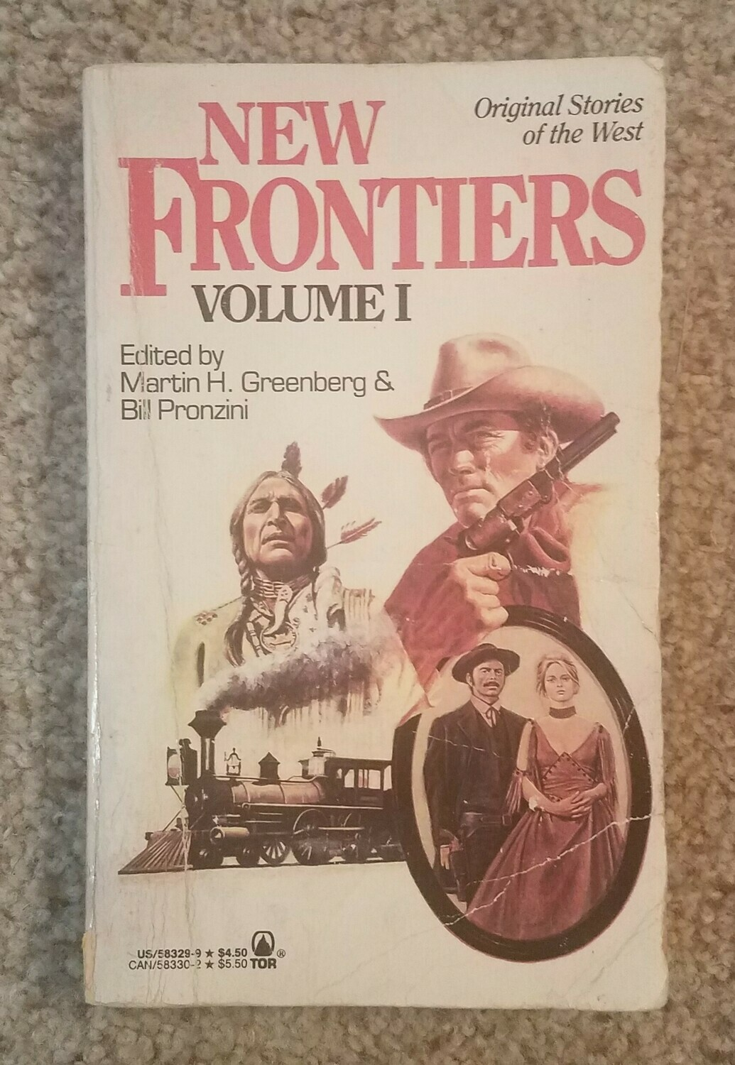 New Frontiers: Volume 1 by Martin H. Greenberg and Bill Pronziri