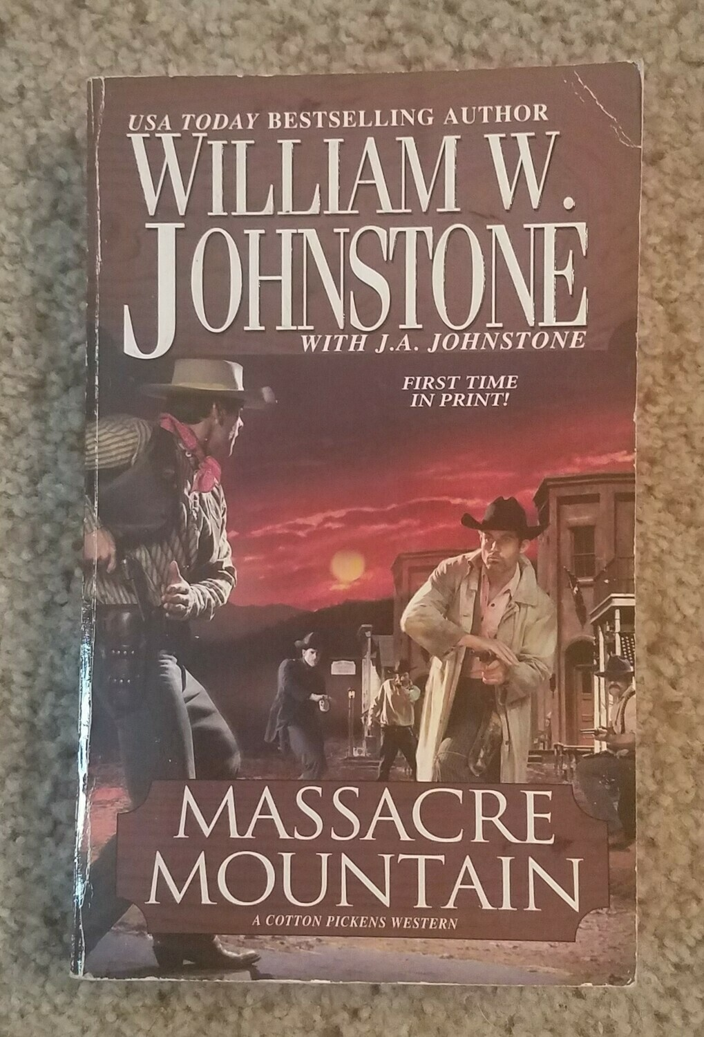 Massacre Mountain by William W. Johnstone with J.A. Johnstone