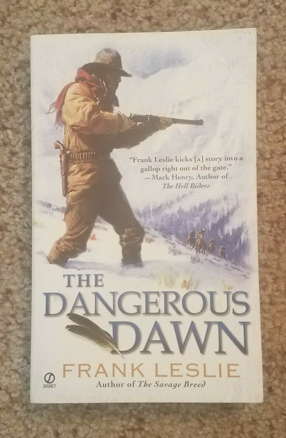The Dangerous Dawn by Frank Leslie