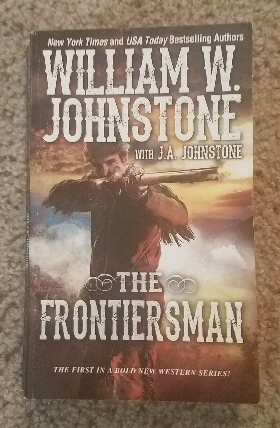The Frontiersman by William W. Johnstone with J.A. Johnstone
