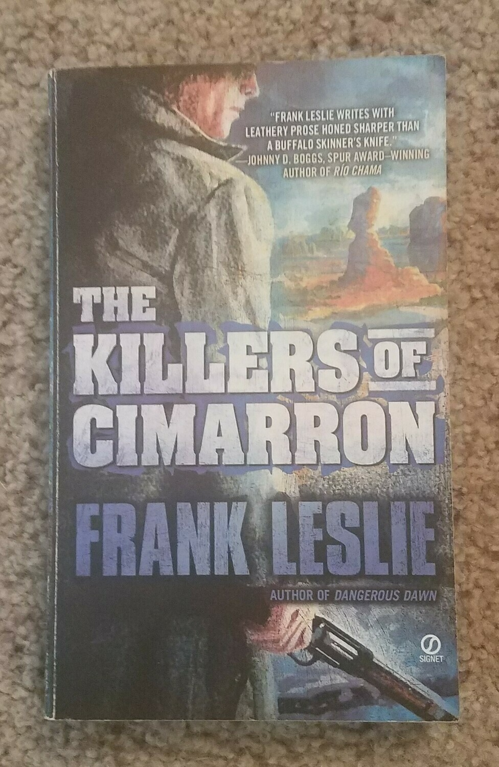 The Killers of Cimarron by Frank Leslie