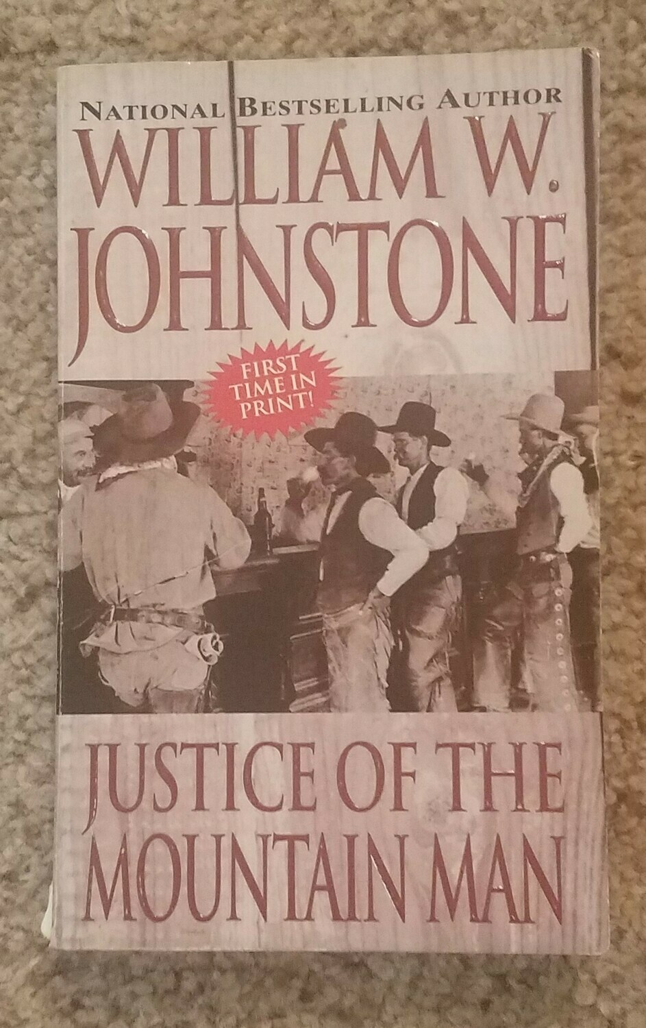 Justice of the Mountain Man by William W. Johnstone
