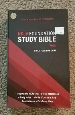 Foundation Study Bible - New King James Version