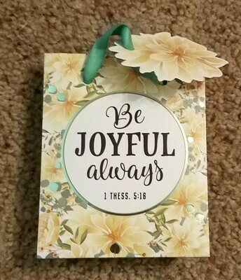 Be Joyful Always X-Small Gift Bag