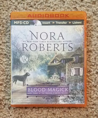 Blood Magick by Nora Roberts - CD
