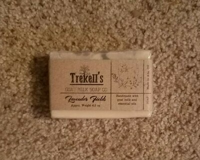Goat's Milk Bar Soap - Lavender Fields
