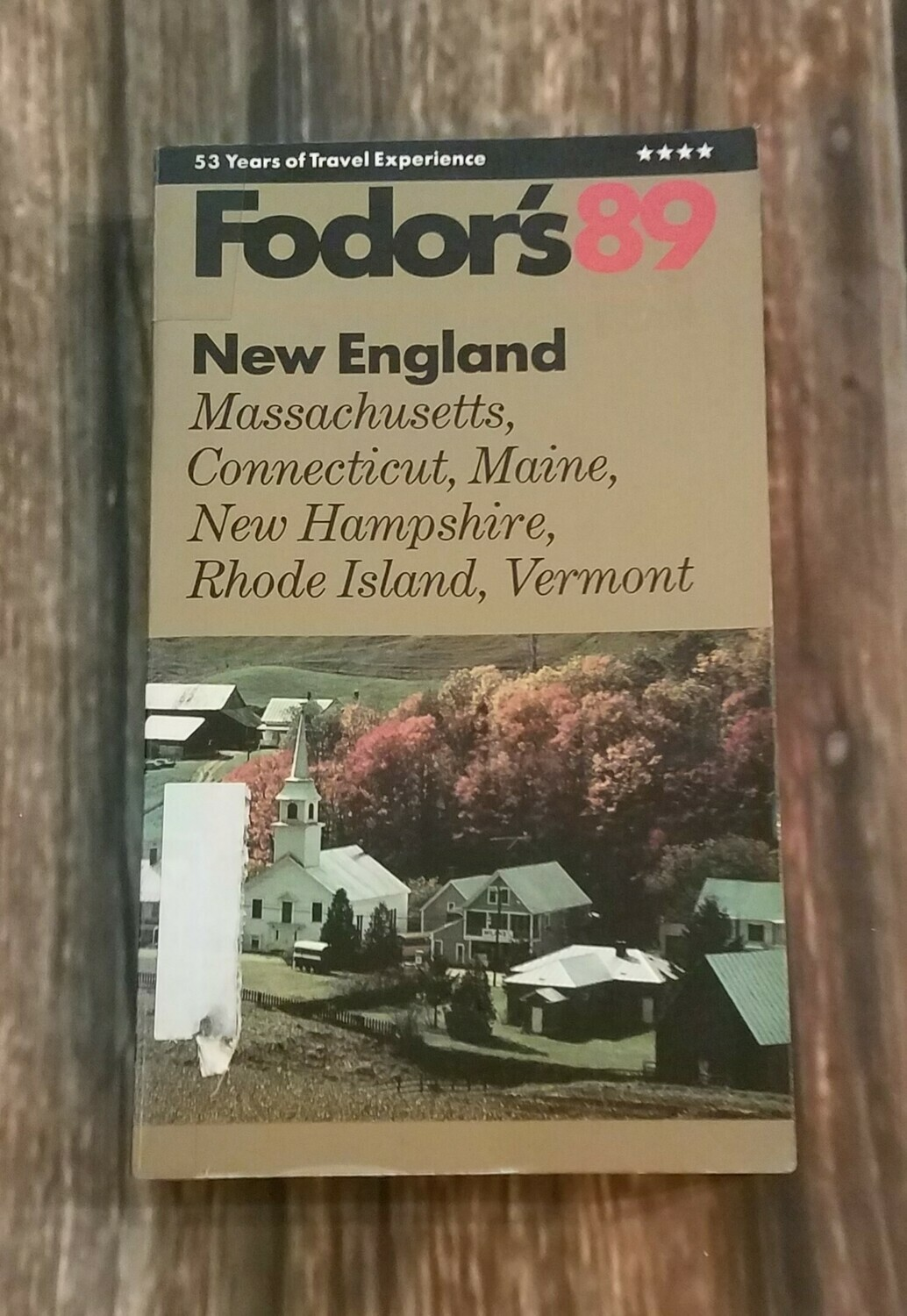 Fodor's 89 New England by Fodor's Travel Production