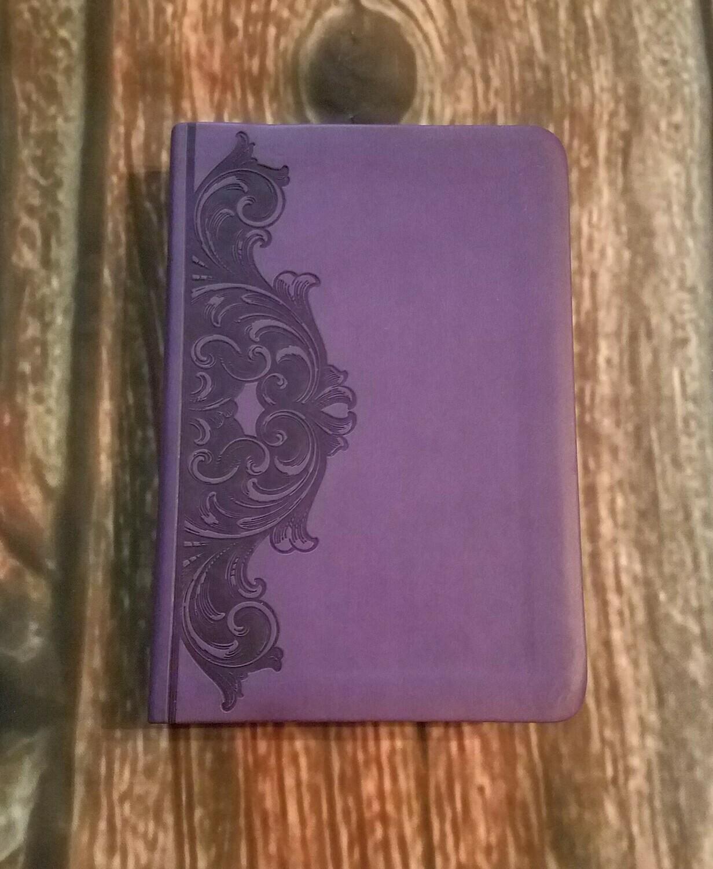 HCSB Standard Pocket Size Bible - Purple