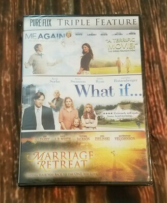 Family Triple Feature: Me Again, What if..., and Marriage Retreat