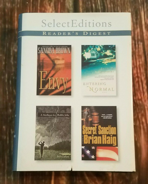 Envy, Entering Normal, A Mulligan for Bobby Jobe, and Secret Sanction by Reader's Digest