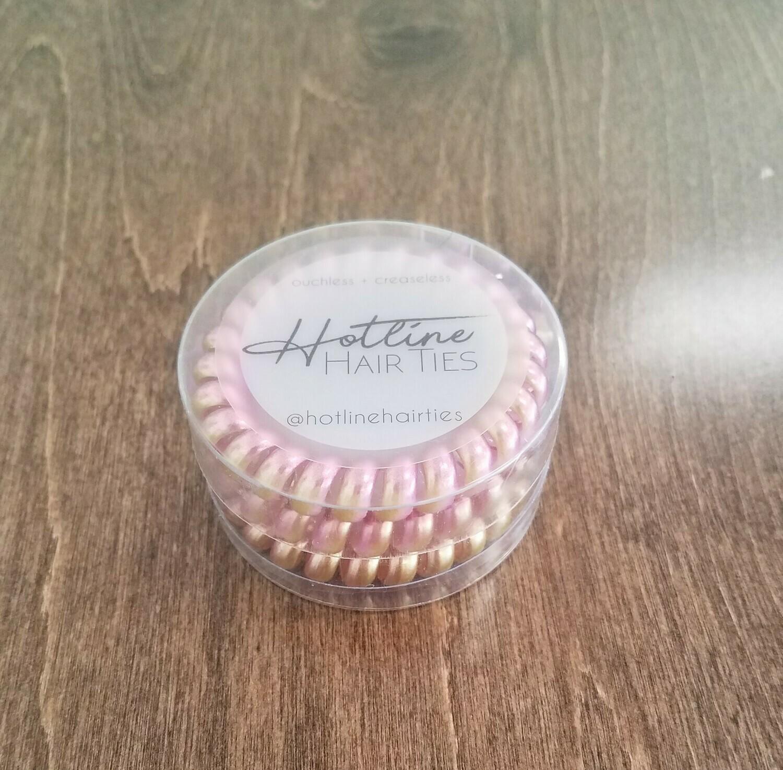 Hotline Hair Ties - Pink Lemonade