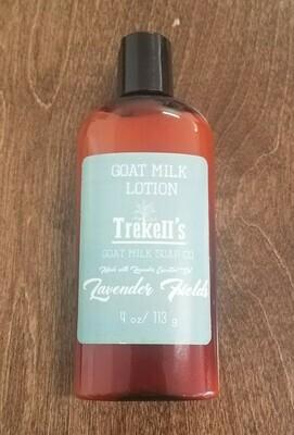 Goat's Milk 4oz Lotion - Lavender Fields