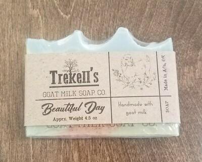 Goat's Milk Bar Soap - Beautiful Day