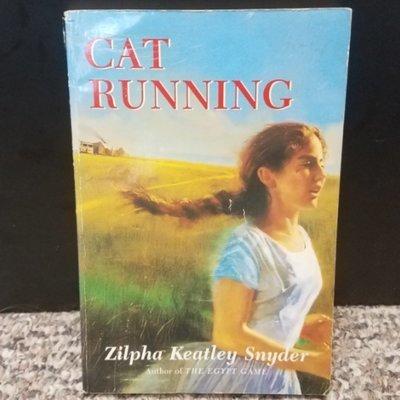 Cat Running by Zilpha Keatley Snyder