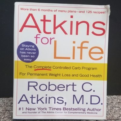Atkins for Life by Robert C. Atkins, M.D.