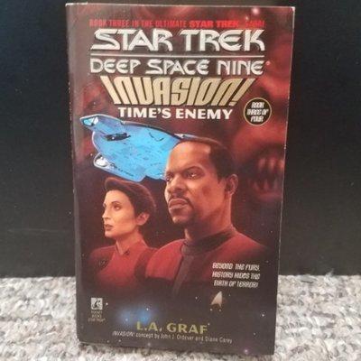 Star Trek Deep Space Nine Invasion: Time's Enemy by L.A. Graf