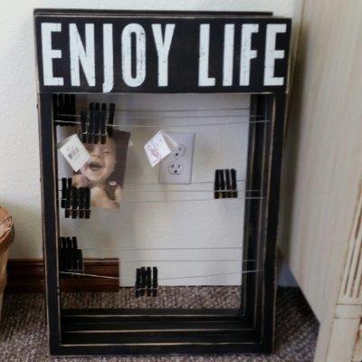 Enjoy Life Primitives by Kathy Frame - 17.50