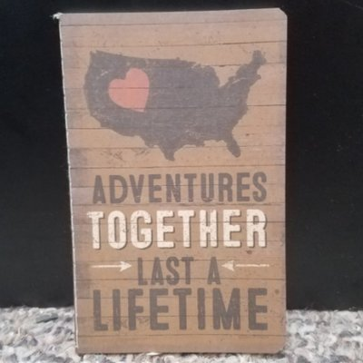 Small Notebooks - Adventures Together Last A Lifetime