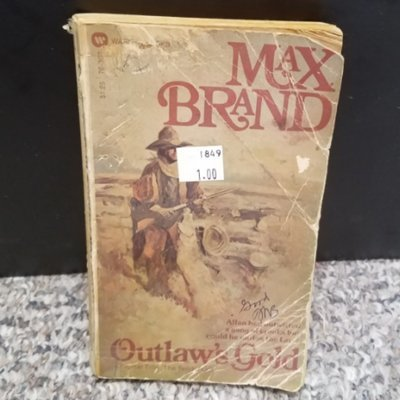Outlaw's Gold by Max Brand
