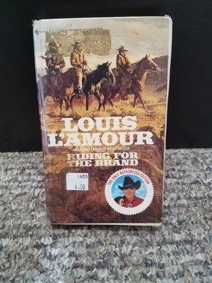 Riding For The Brand by Louis L'Amour