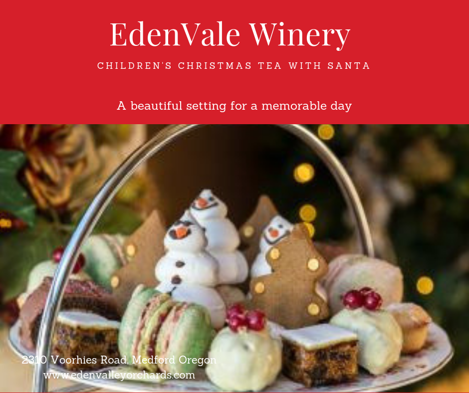 Children's Christmas Tea - Ticket for December 14th
