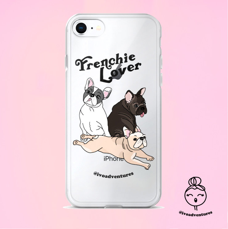 Frenchie Lover - IVO - iPhone Case