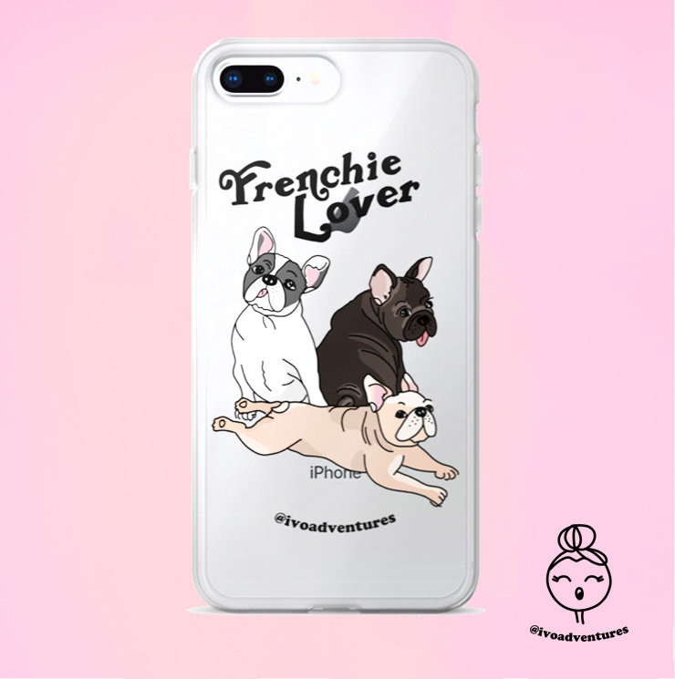 Frenchie Lover - IVO - iPhone Case 6PLUS/7/8PLUS