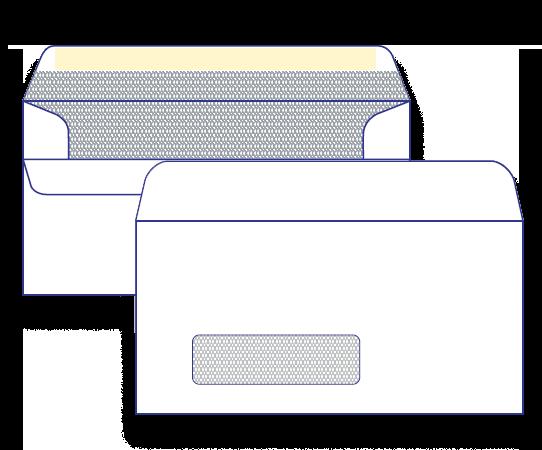 17400 - DLX Window Face Secretive Self Seal