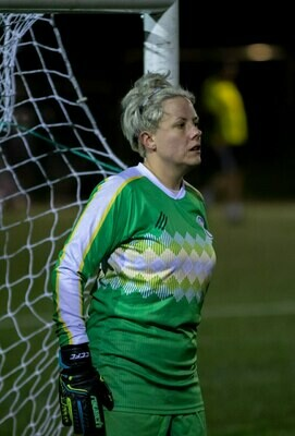 Clapton CFC -Green goalkeeper shirt