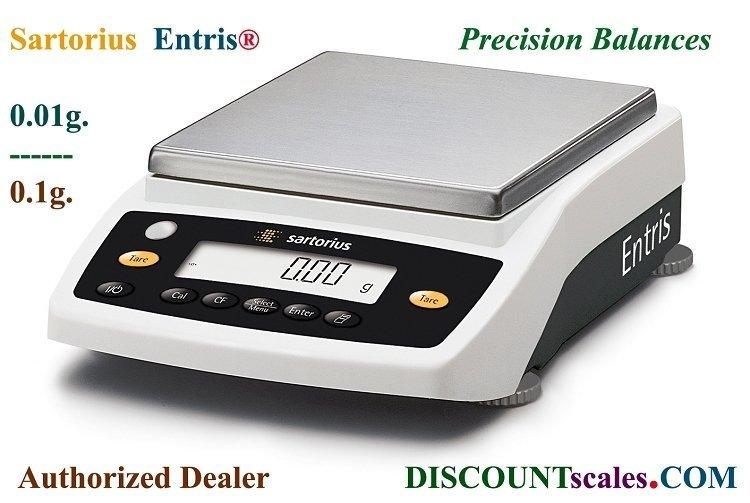 Sartorius® ENTRIS4202-1S Balance (4200g. x 0.01g.)