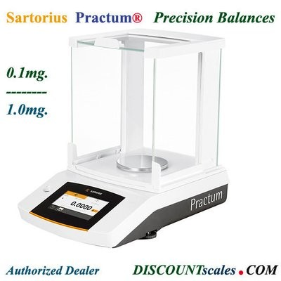 Sartorius® PRACTUM313-1S Milligram Balance  (310g. x 1.0mg.)
